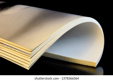 The magazine is a printed periodical on a black creative background. The journal has a permanent rubrication and contains articles or essays on various socio-political, scientific, industrial,