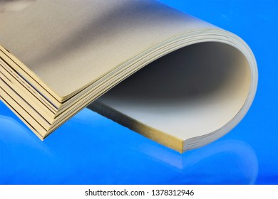 Magazine — printed periodical, on a blue background. The journal has a permanent rubrication and contains articles or essays on various socio-political, scientific, industrial, literary and artistic w