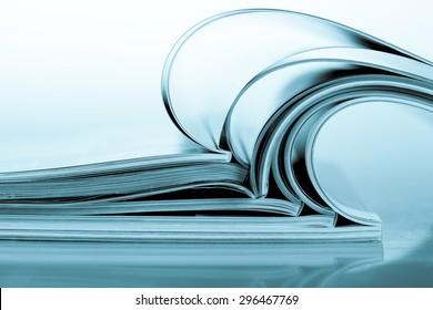 Magazine, Publication, Book.