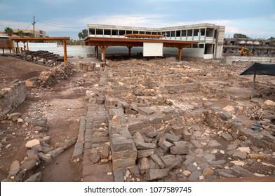 Magdala ancient settlement, Sea of Galilee, Israel