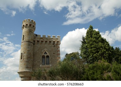 Magdala tower in Renne-le-Chateau, France
