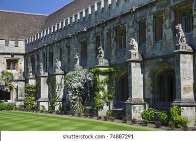 Magdalen College in Oxford