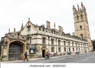 Magdalen College, Oxford, UK