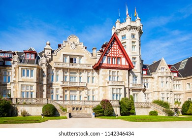 Magdalena Palace or Palacio de la Magdalena is a palace located on the Magdalena Peninsula in Santander city, Spain.