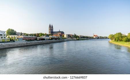 Magdeburg, captital city in Saxony Anhalt in Germany