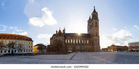 magdeburg germany high definition panorama