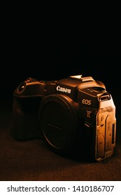 Magelang, May 28th 2019. This is brand new Canon EOS RP, the latest full frame mirrorless camera from Canon.