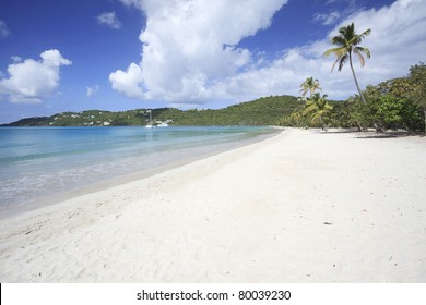 Magens Bay Beach on St. Thomas in US Virgin Islands