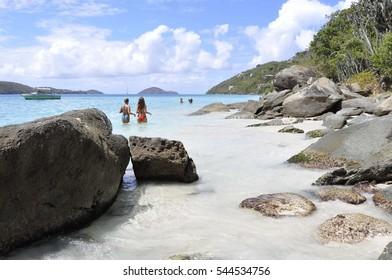 Magens Bay Beach, St. Thomas, US Virgin Islands