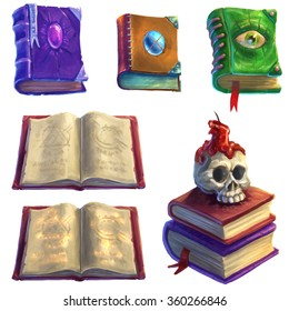 Magic Books Set