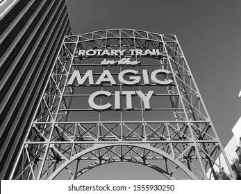 Magic City sign in Birmingham, Al.
