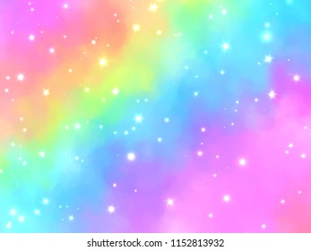 magic dream glitter glow abstract background