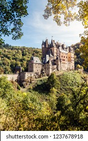 Magic Eltz castle in the forest