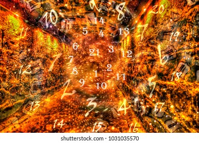 Magic numerology world