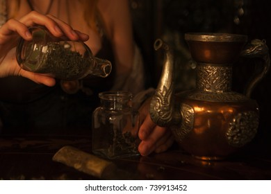 magic objects on the table