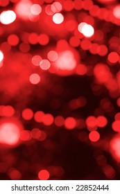 Magic party red lights as a background