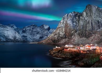 Magical Aurora Borealis, the Northern Lights