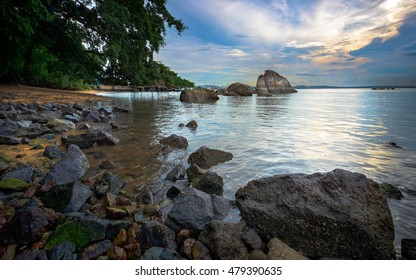 Magical beach in Singapore at one of the amazing parks in the north.
