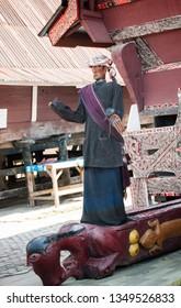 A magical doll of Samosir- Sigale-Gale at Samosir island,
