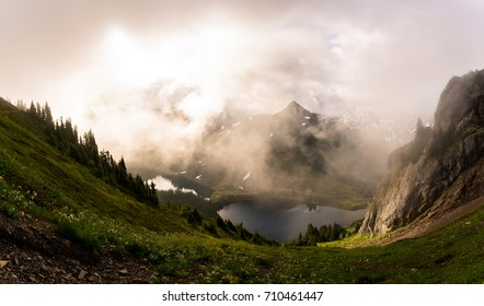 The magical light and clouds that drape the mountains of the North Cascades National Park can mesmerize anyone visiting this special place.