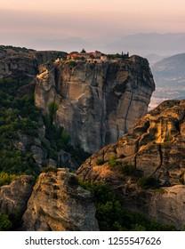 Magical Meteora - Stunning scenery and Eastern Orthodox monasteries. Greece