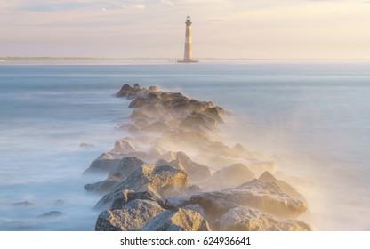 Magical Morning at Morris Island Lighthouse Folly Beach, South Carolina