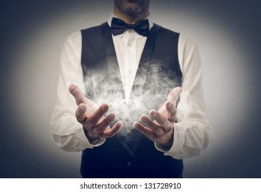 magician makes prestige