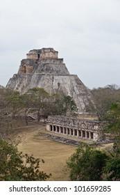 The Magician's Pyramid, Uxmal, Mexico