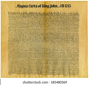 Magna Carta Libertatum, is an English legal charter that required King John of England to proclaim certain rights, respect certain legal procedures, and accept that his will could be bound by the law.