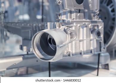Magnesium die casting -  Car Engine Block and Cartridge Oil Filter