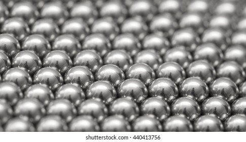 magnetic ball bearing tiling in perfect hexagonal grid