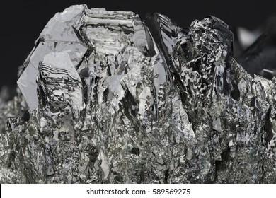 Magnetite macro closeup