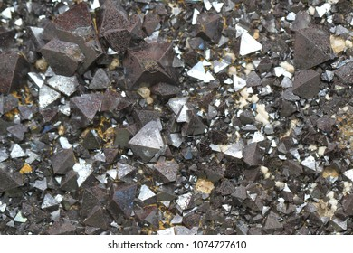 magnetite mineral texture as nice natural background