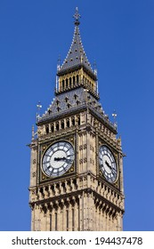The magnificent Big Ben in London.