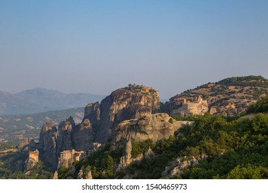 a magnificent daytime trip through the Kalambaka mountains to the Meteora monastery complex with beautiful views from different points and rocks. Greece