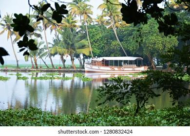 """Magnificent lake view from Kumarakom Bird Sanctuary"""