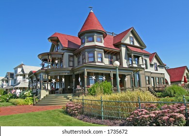A magnificent mansion on the island of Martha's Vineyard (total cost of the house is 23 million dollars)