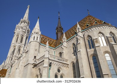 The magnificent Matthias Church in Budapest, Hungary.