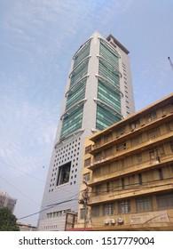 The magnificent MCB Tower building on I I Chundrigar road - Karachi Pakistan - Sep 2019