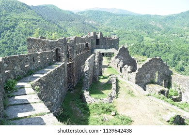 Magnificent old city of Maglic, medieval ruins and well preserved history, South Serbia