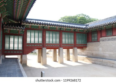 magnificent palace Dancheong