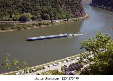 Magnificent Rhine valley