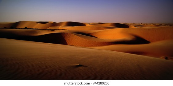 The Magnificent Sand Dunes of the Eastern Province of the Kingdom of Saudi Arabia