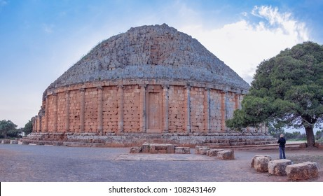 Magnificent tomb  of Juba II and Cleopatra Selene II near Tipasa (Tipaza), Algeria