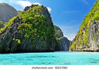 Magnificent tropical sea. Philippines. El Nido.