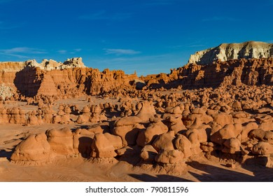 Magnificent view of Goblin Valley State Park near Moab Utah.