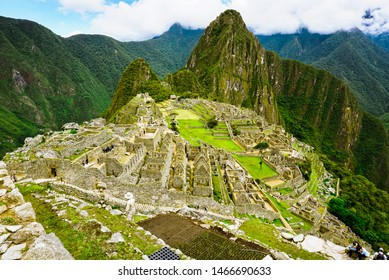 "Magnificent view of Machu Picchu -  the ""Lost City of the Incas"""