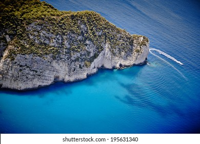 Magnificent view. Zakynthos, Greece.