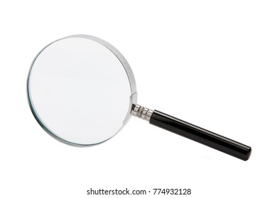 A magnifying glass (called a hand lens in laboratory contexts) is a convex lens which is used to produce a magnified image of an object. The lens is usually mounted in a frame with a handle.