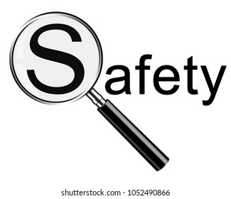 Magnifying glass safety